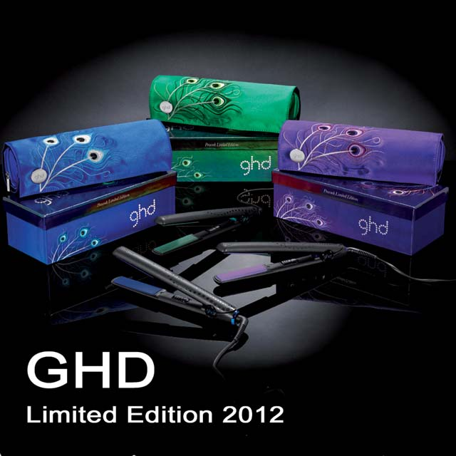 ghd limited edition 2012 peacock collection gold classic styler v gl tteisen ebay. Black Bedroom Furniture Sets. Home Design Ideas